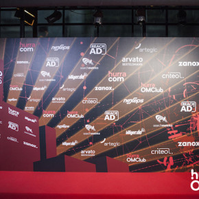 Logowall,OMClub2015,hurra omclub,project a,logowall-design,logowall grafik,grafikdesign, logowall gestaltung, design, agentur, project a, halle tor 2 köln, veranstaltung,OMClub