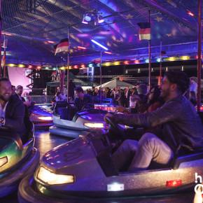 OMClub 2015, autoscooter, bumper cars, free ride, kostenlos, sponsoren, party, event, onlinemarketing, veranstaltungen, köln, die halle tor2,