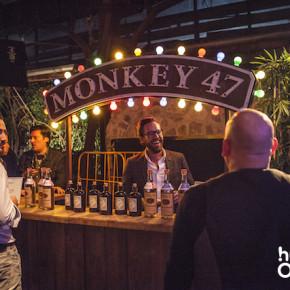 OMClub 2015, Monkey 47, GIN, Schwarzwald, Theke, free drinks, sponsoren, bar, kostenlose getränke, halle tor 2, OMClub 2015 - project a,