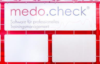 Plexiglas, Medocheck, Messebau, Messen, Veranstaltungen, Plexiglas, Kacheln, Kachelsystem