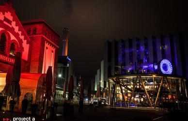 Luminale_2016,frankfurt,LED-Tubes,kreis,led-iris,led-auge,lichtkreis, chicago meatpackers riverside, hessenschau,leichtbaukunst.de,project a, christopher baer, luminale lichtinstallation, lichtskulptur, druckwasserwerk
